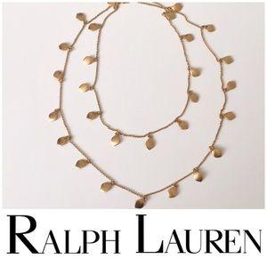 Ralph Lauren 🆕 leaf necklace